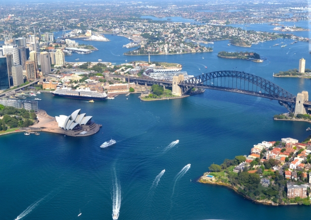 Scenic Flight Sydney Harbour